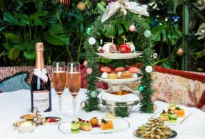 wine with afternoon tea foods